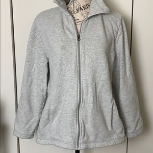 t by talbots gray sweater sz XLp